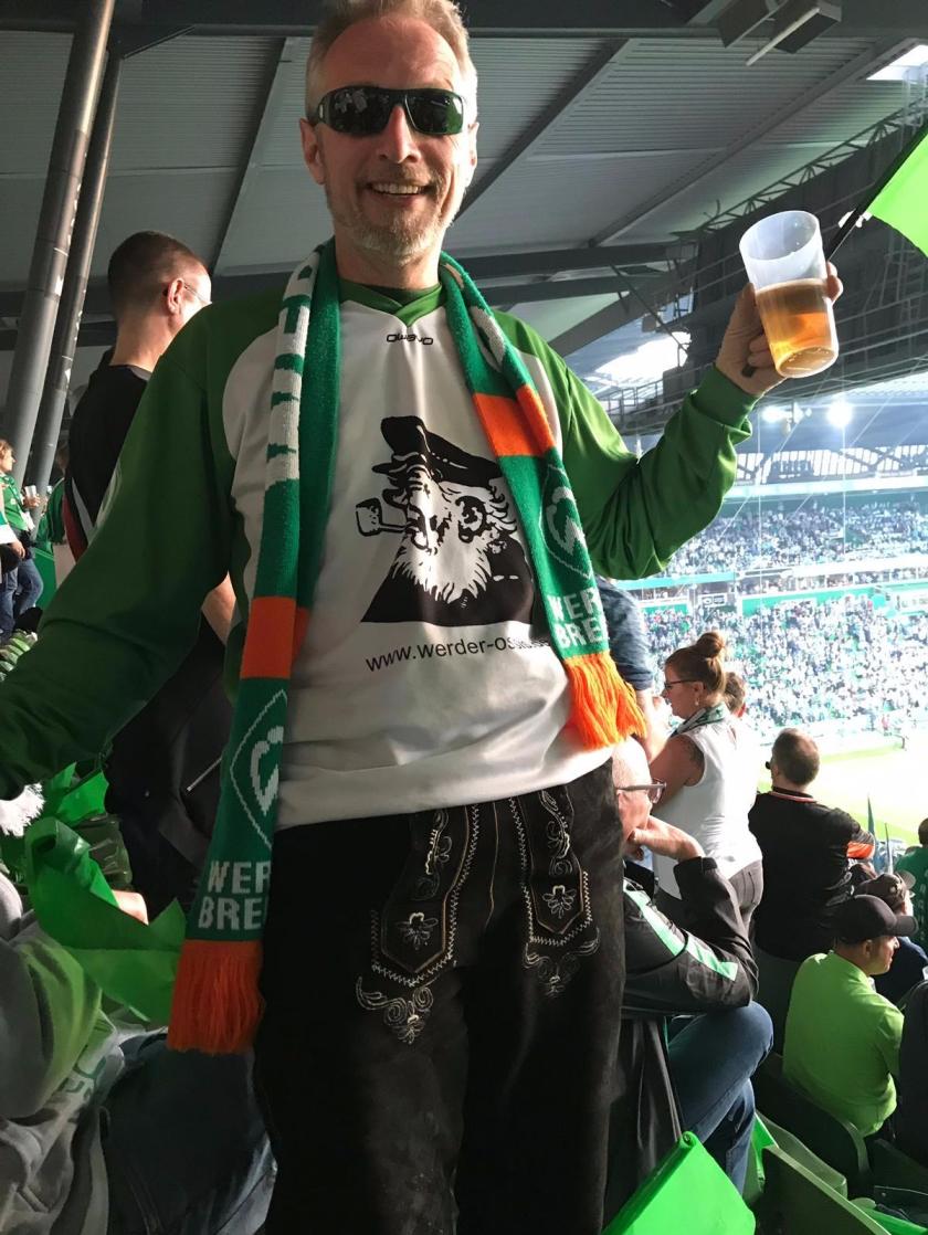 Olaf Kretschmer im Weserstadion