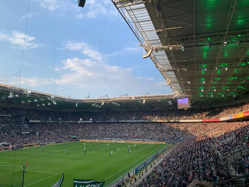 Momentaufnahme aus dem Borussia-Park
